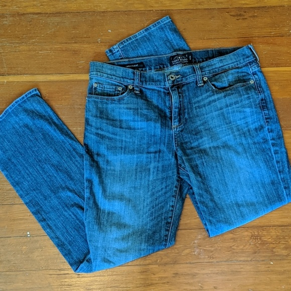 Lucky Brand Denim - Lucky Brand Sweet & Straight Jeans size 14